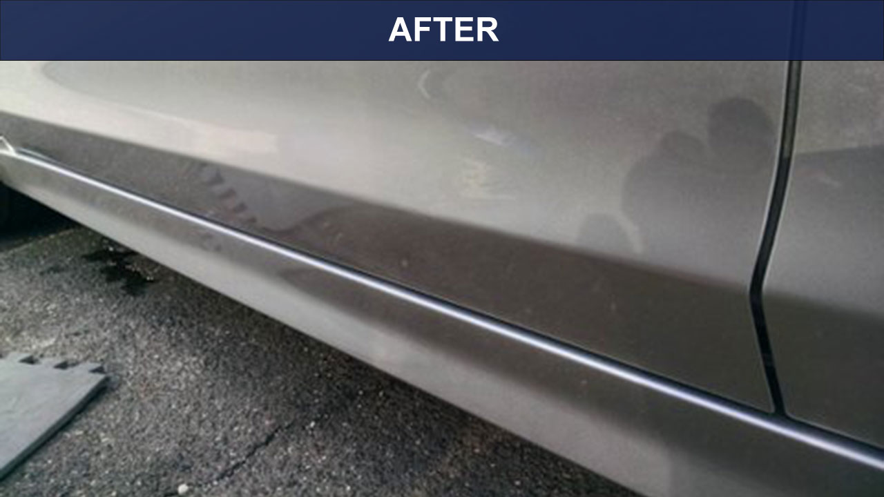 Lower-door-dent-after