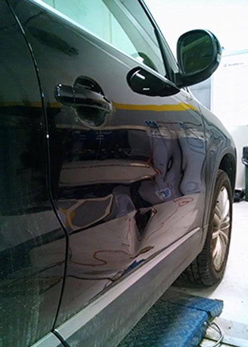 Ding Repair In Car Doors Evantage Paintless Dent Removal