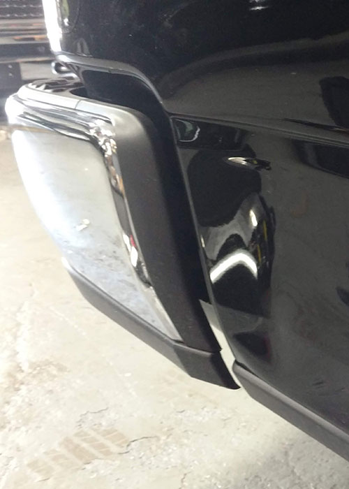 Aluminum-Dent-Before Repair