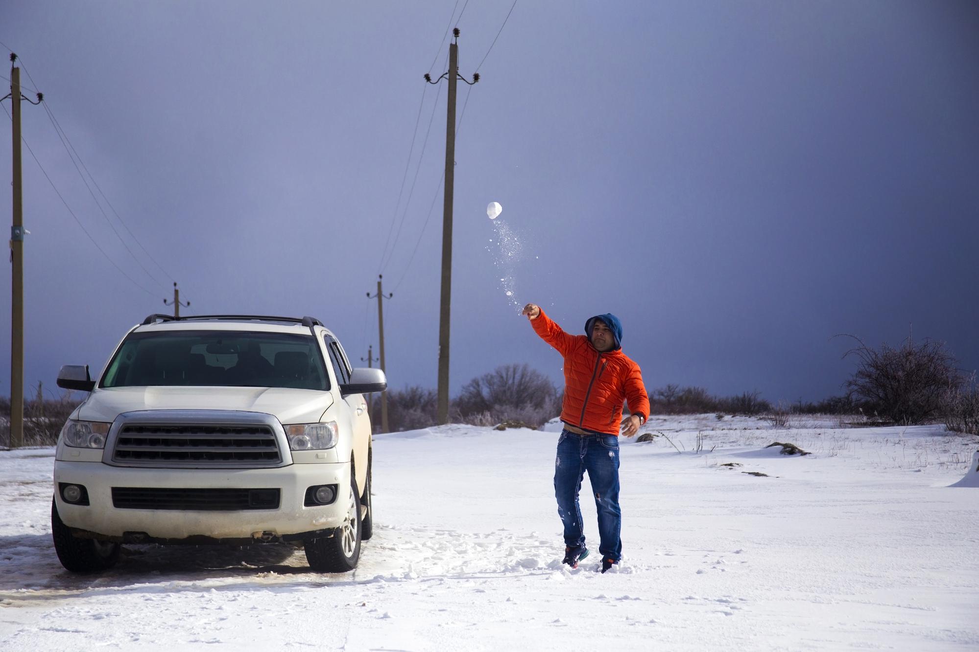 Snowballs Denting Your Car